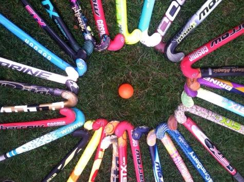 The 2014 Watertown Middle School field hockey team has learned the importance of sticking together.