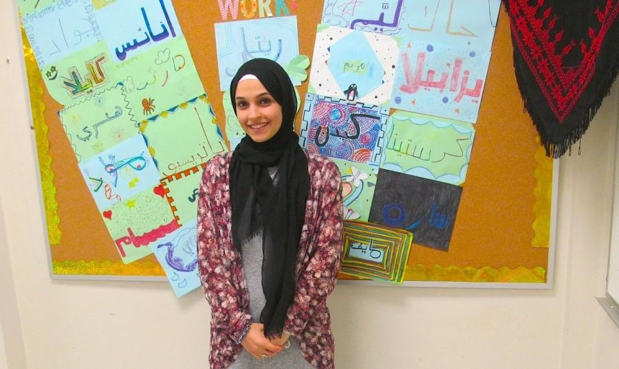 Laila Sadeddin is the new Arabic teacher at Watertown Middle School this year.