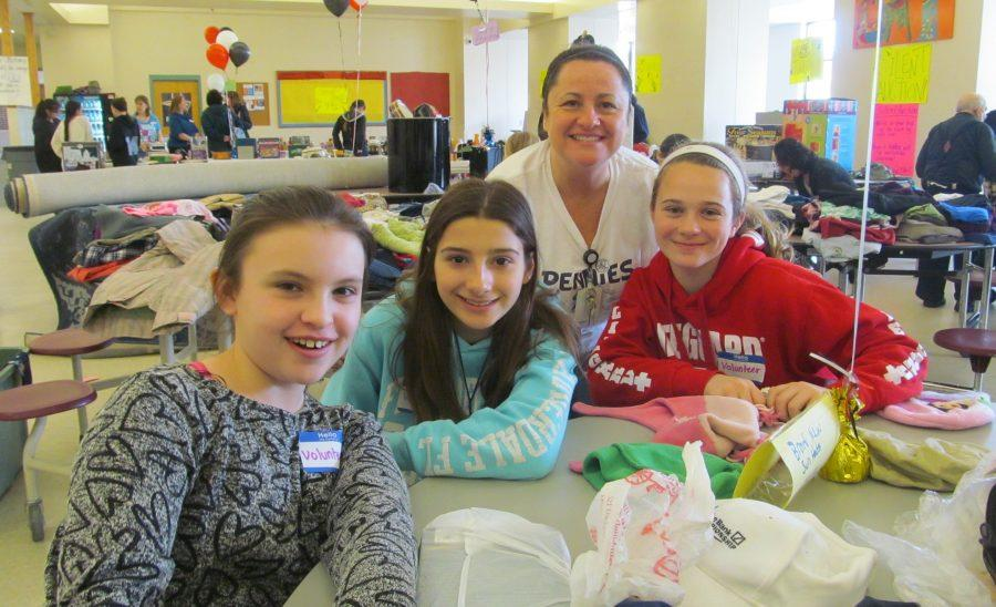 Math+teacher+Jane+Evans+%28second+from+right%29+organized+the+2016+rummage+sale+at+Watertown+Middle+School%2C+one+of+the+many+successful+events+as+part+of+the+Pennies+for+Patients+fund-raiser+to+help+the+Leukemia+and+Lymphoma+Society+fight+blood+cancer.