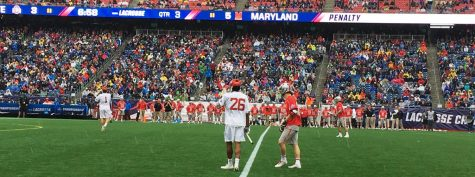 Danny Loprete lives lacrosse dream at Gillette Stadium