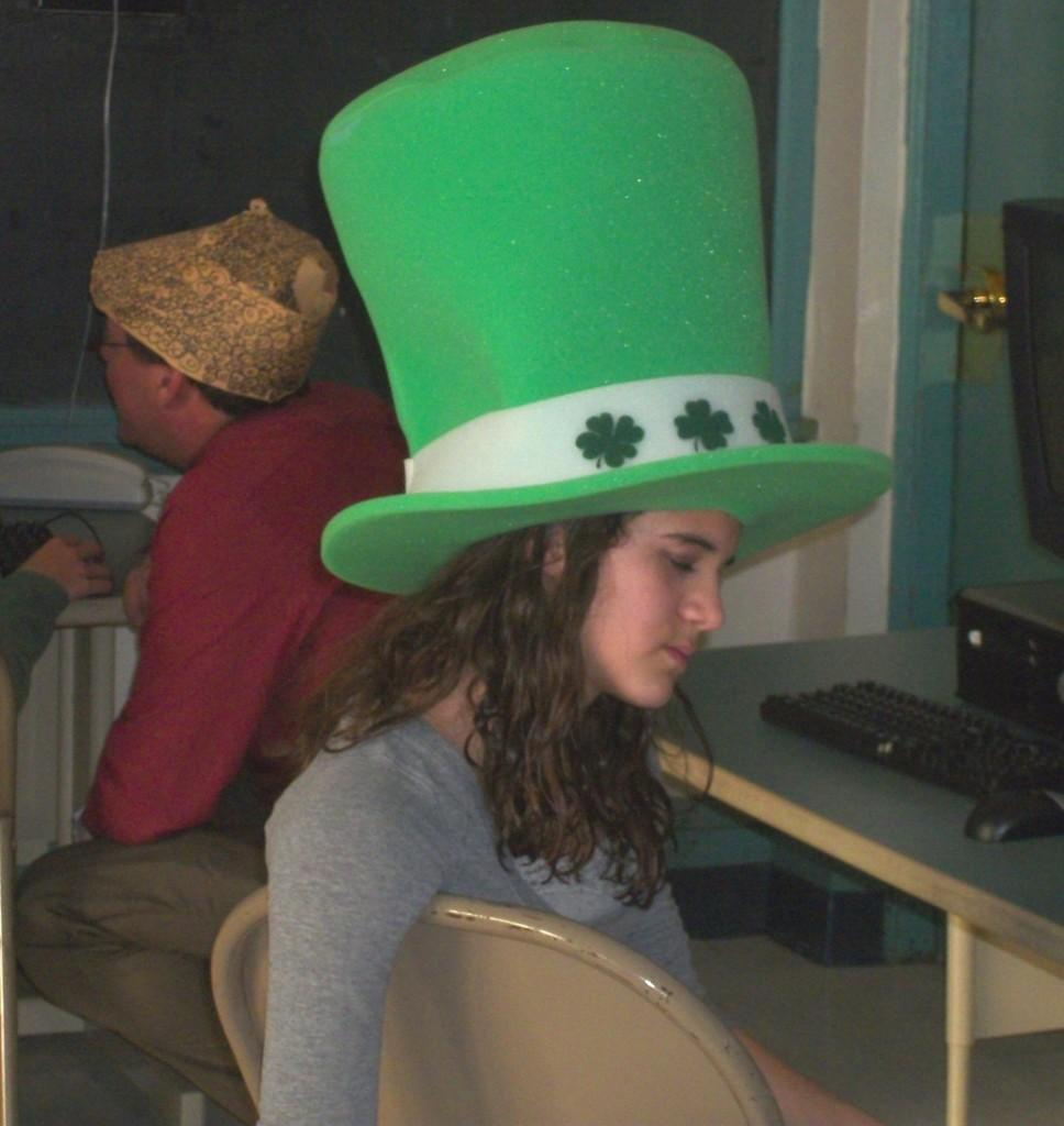 Hat Day was obviously a very big hit with WMS students.