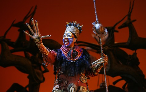 Phindile Mkhize (as Rafiki) performs