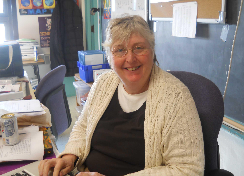 Eleanor Donato, sixth-grade teacher at Watertown Middle School.