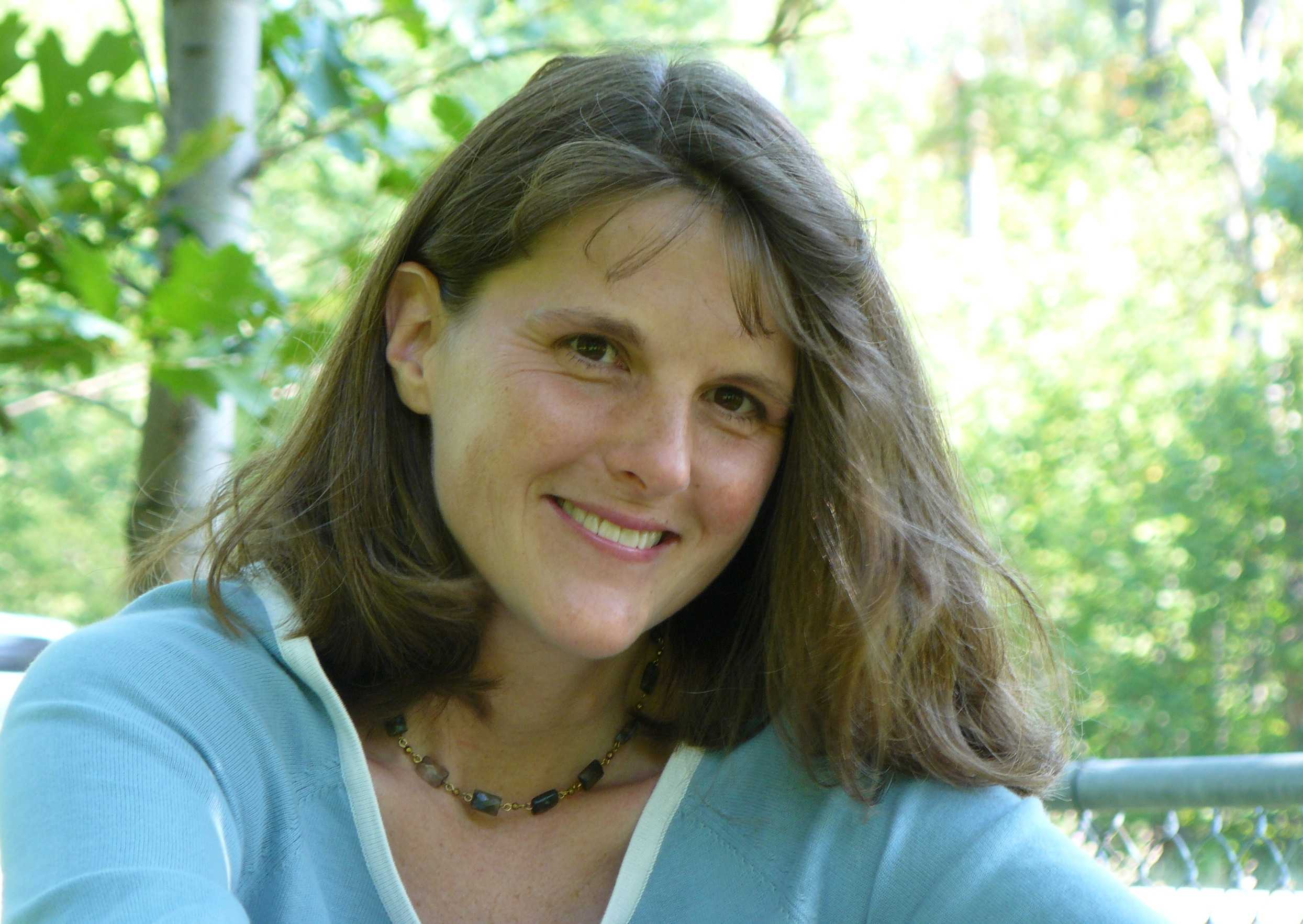 Kate Messner, author of