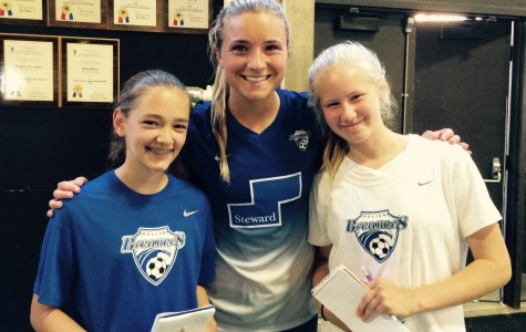 Mewis, Breakers have goal in front of them