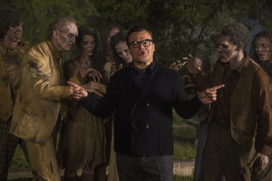 Jack Black is at the center of some scary situations in