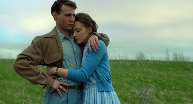 Emory Cohen (left) and Saoirse Ronan star in
