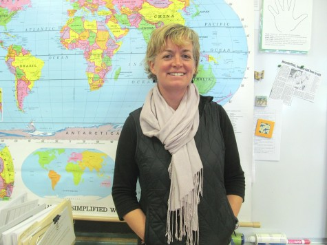 Trip brings teacher face to face with history