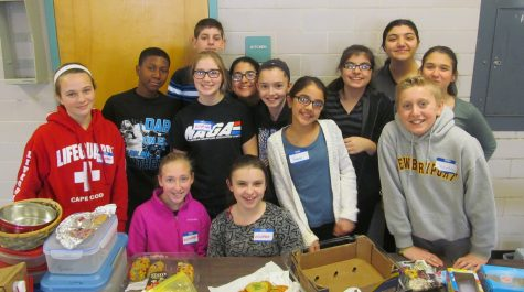 Thanksgiving baskets a wonderful tradition at Watertown Middle School