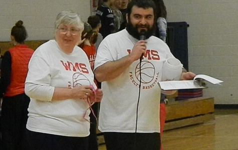 Watertown Middle School gives its thanks to Eleanor Donato