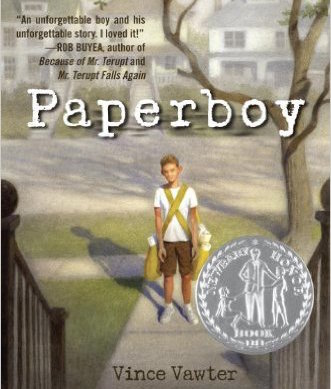 """Paperboy"" by Vince Vawter is one of the three finalists for Watertown Middle School"