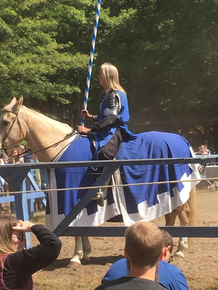 The knights on horseback and the jousting tournament are a few the shows to be found at King Richard's Faire in Carver, Mass., through Oct. 22, 2017.