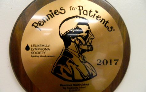 Watertown Middle School kicks off annual Pennies for Patients drive