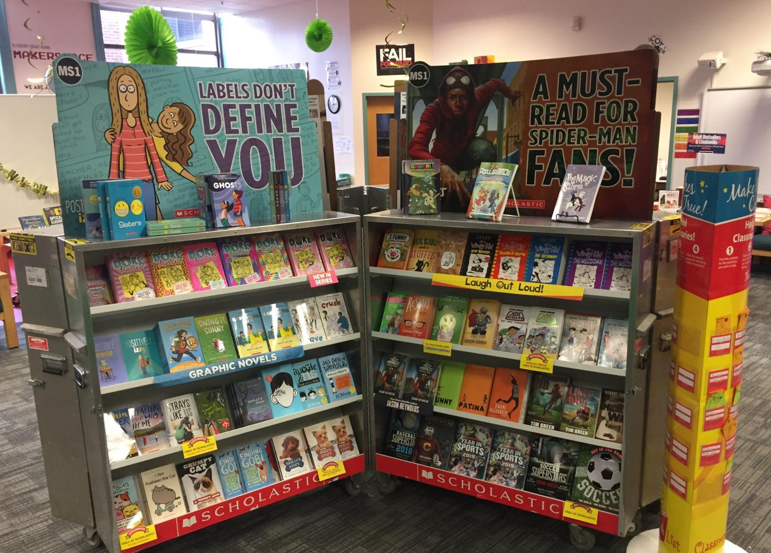 The Scholastic Book Fair will be set up in the Watertown Middle School library through Friday, Nov. 30, 2018.