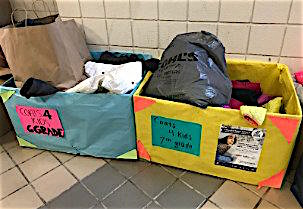 The annual Coats for Kids drive at Watertown Middle School ends Thursday, Jan. 3. 2019.